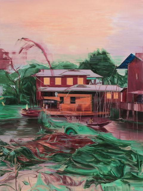 Lei Qi, 'Sailing a canoe', 2019, Matthew Liu Fine Arts
