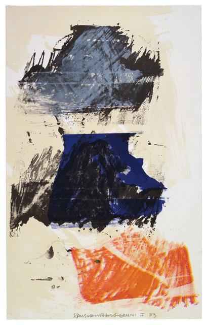 Robert Rauschenberg, 'Lion Rhyme', 1993, Upsilon Gallery
