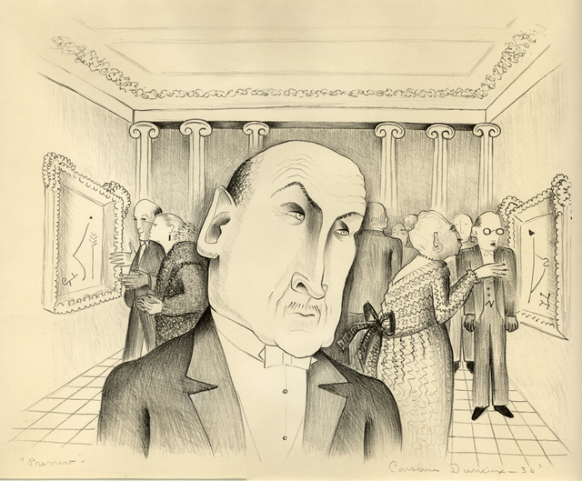 , 'Preview,' 1936, Stone + Press Gallery