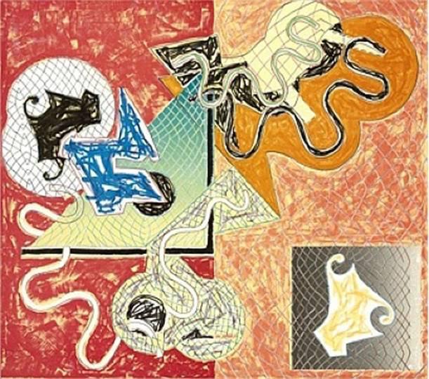 Frank Stella, 'Shards IV', 1973, Puccio Fine Art