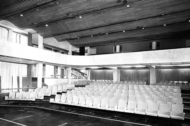 Madan Mahatta, 'Auditorium, IIT-Delhi, c.1968 (Architect: J. K. Chowdhury)', Photoink