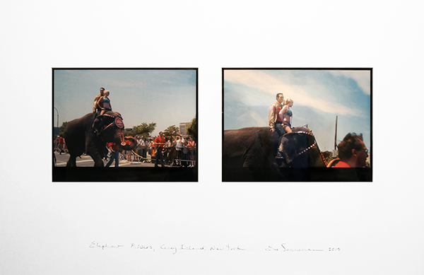 Eve Sonneman, 'Elephant Riders, Coney Island, New York', 2013, Nohra Haime Gallery