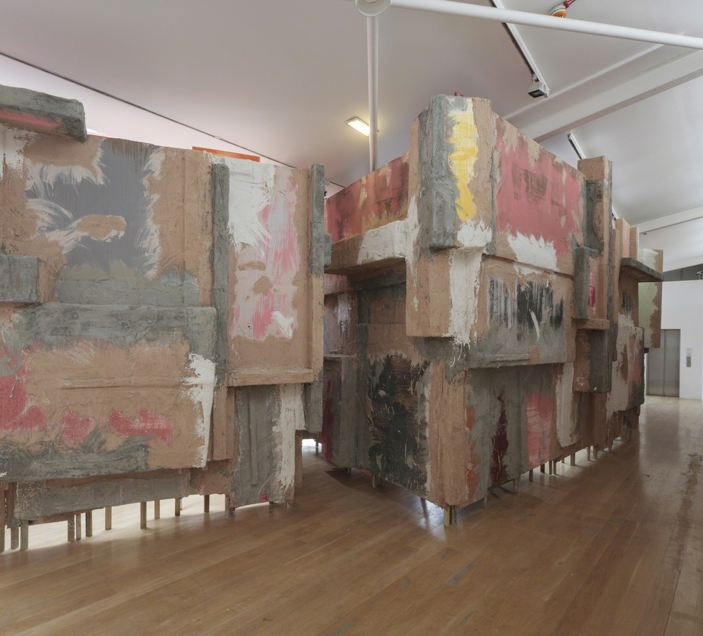 Phyllida Barlow, untitled: blockade, 2015