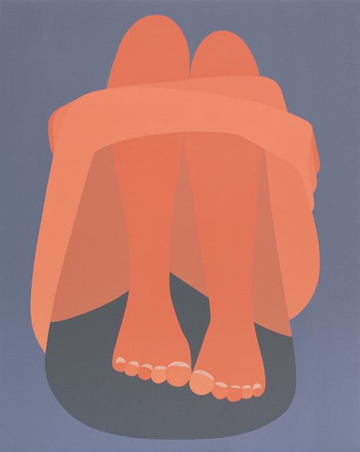 , 'Folded Into A Logo,' 2017, Joshua Liner Gallery