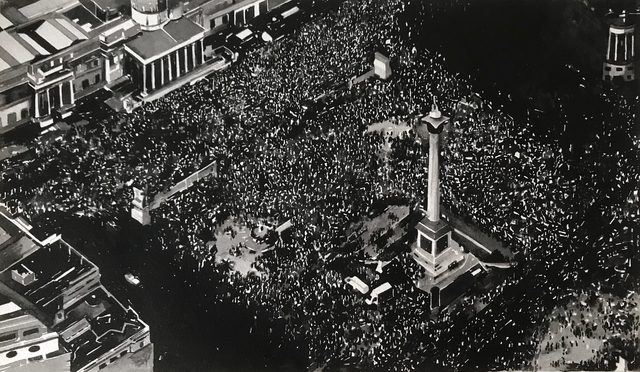 , 'Protest Crowd, London (Trump Protest, Trafalgar Square, July 2018),' 2018, Alan Cristea Gallery
