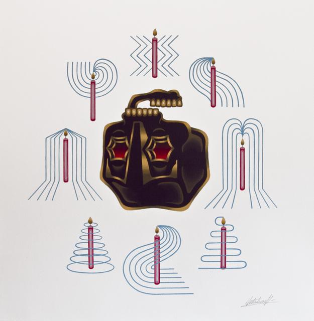, 'Mandala 1,' 2015, Jonathan LeVine Projects