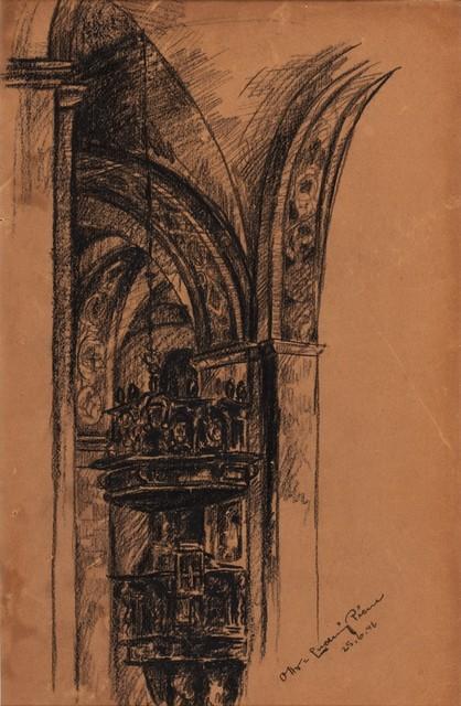 Otto Piene, 'Sacred interior', 1946, Finarte