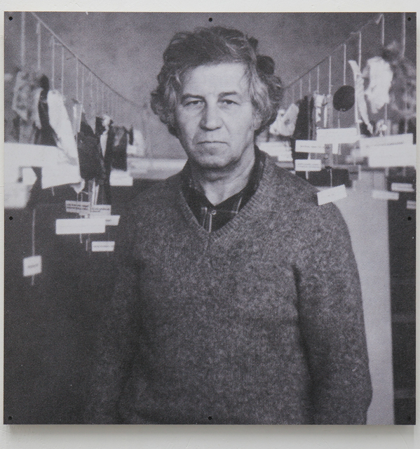 , 'Portrait of Ilya Kabakov 2,' 2017, Osnova Gallery
