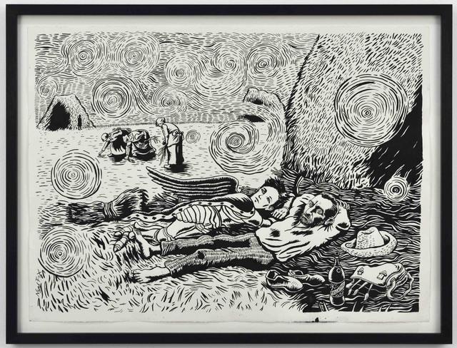 , 'The Siesta,' 2017, Suzanne Tarasieve