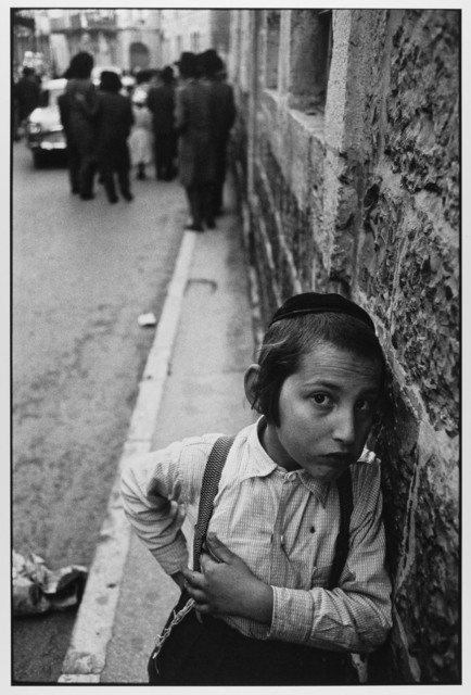 , 'Cautious Orthodox Jewish Child, Mea Shearim, Jersusalem, Israel ,' 1962, Gallery 270