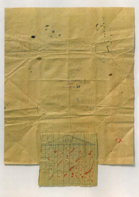 , 'Hoelderlin, Hyperion,' 1983, Konzett Gallery