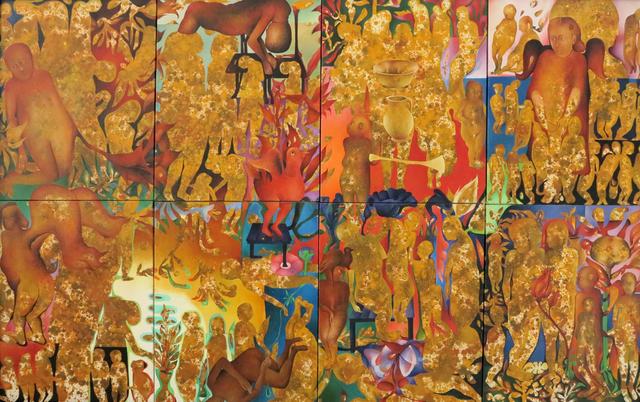 """, '""""Behind of Shadow""""(8 pieces)/""""Gölgenin Arkası"""" (8parçalı),' 2014, Galeri 77"""