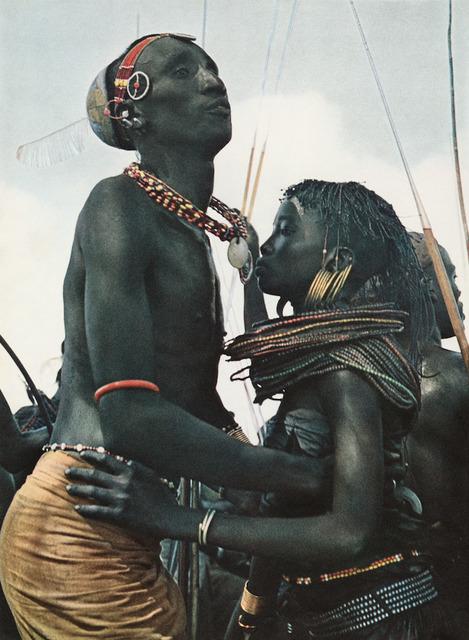 Mirella Ricciardi, 'Pokot Dancers, Western Kenya, East Africa', 19671968, Atlas Gallery