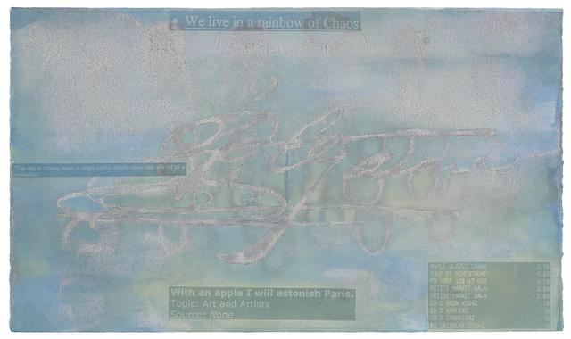 , 'Signature III (Cezanne),' 2007, Wildwood Press