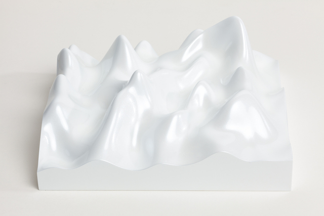 , 'Unknown Pleasure, Miraval 5311, Scenic white on white background,' 2015, Paul Stolper Gallery