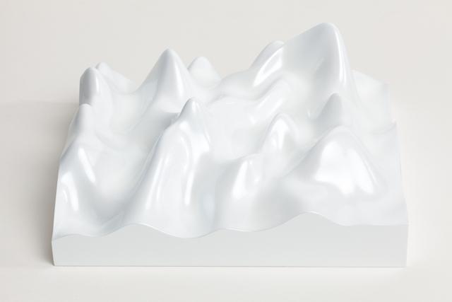 Peter Saville, 'Unknown Pleasure, Miraval 5311, Scenic white on white background', 2015, Paul Stolper Gallery