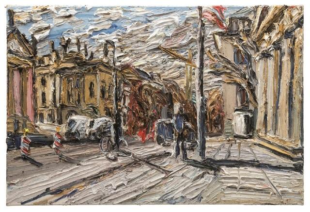 , 'Wintersonne An Der Alten Wache,' 2017, GALERIE URS REICHLIN
