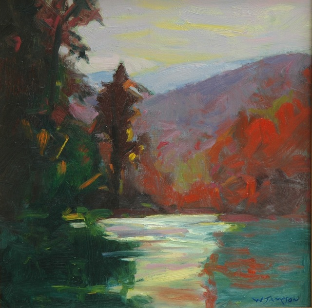 , 'Davidson River Afternoon,' 2018, Shain Gallery