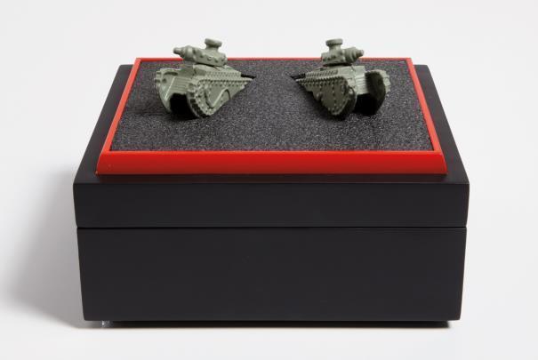 , 'Two World War I Tanks,' 2010, Galerie Krinzinger