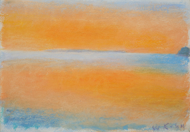 ", '""Orange Cloud-Orange Sea"",' 1996, Addison/Ripley Fine Art"