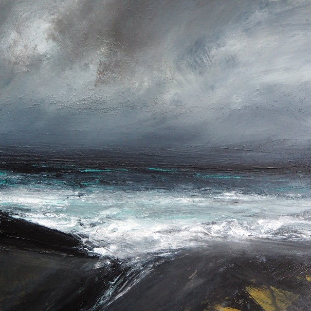 Ruth Brownlee, 'Burland Storm', 2019, Painting, Mixed Media on Board, Tatha Gallery