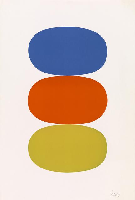 , 'Blue and Orange and Green,' 1964, Lyndsey Ingram