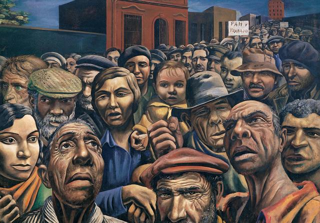 , 'Manifestación,' 1934, MALBA