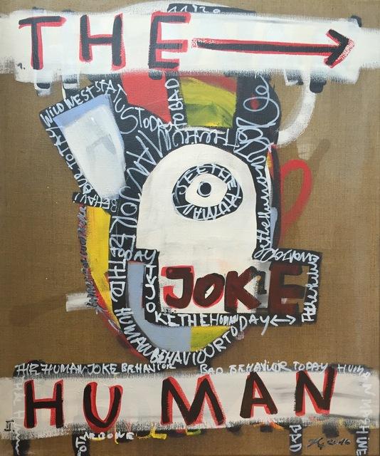 , 'The Joke,' 2016, Galerie Schimming