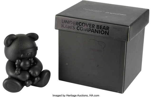 KAWS, 'Companion, Undercover Bear (Black)', Other, Heritage Auctions
