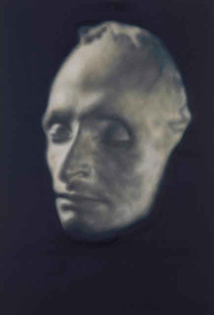 , 'Masque mortuaire de Pascal (Pascal's death masque),' 2017, Gagosian