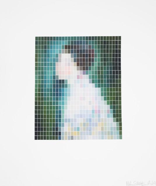 Nick Smith, 'Klimt - Portrait of a Women - (Microchip)', 2019, Rhodes