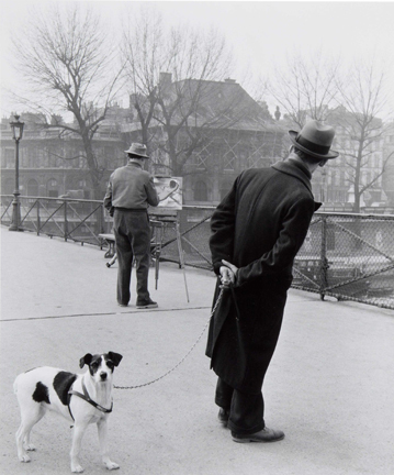 , 'Le Fox-Terrier Au Pont des Arts,' 1953, Staley-Wise Gallery