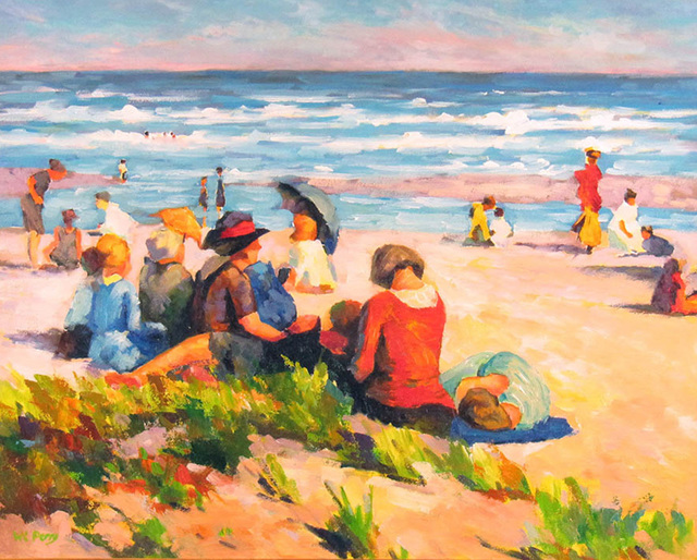 William Charles Perry, 'Potthast's Beach', ca. 2000, Janus Galleries