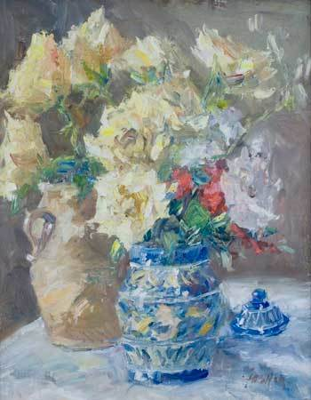 Gordon Fowler, 'Blue and White Vase', Wally Workman Gallery
