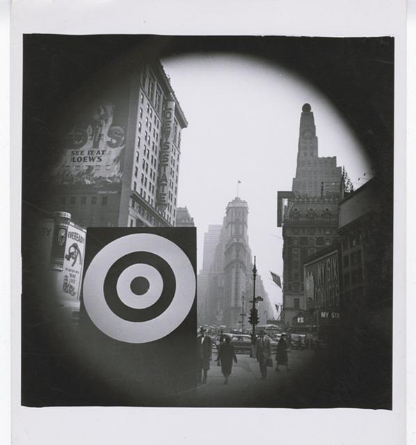 , 'Bull's Eye in Times Square,' ca. 1940, Pérez Art Museum Miami (PAMM)