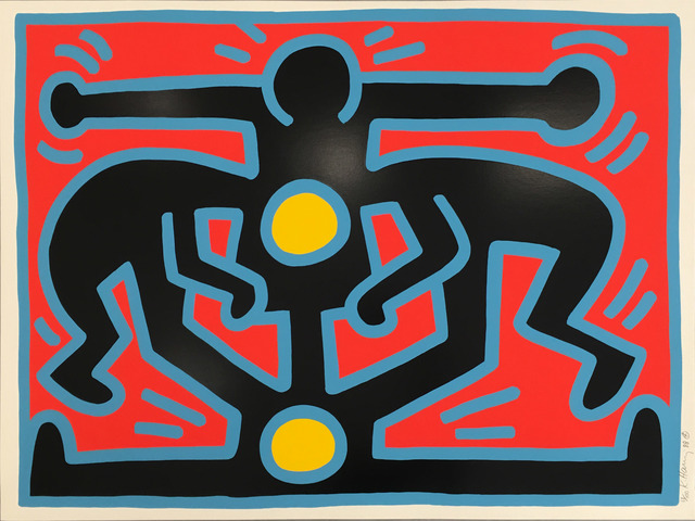 Keith Haring, 'Growing #3', 1988, Hamilton-Selway Fine Art: Fall Fusion of Pop and Contemporary Art