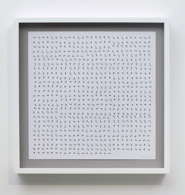 , 'P-480/010110,' 1992, bitforms gallery