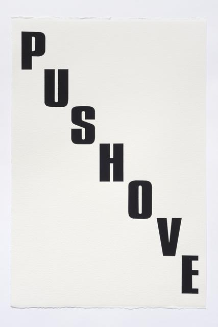 , 'Push Comes to Shove,' 2015, The Aldrich Contemporary Art Museum