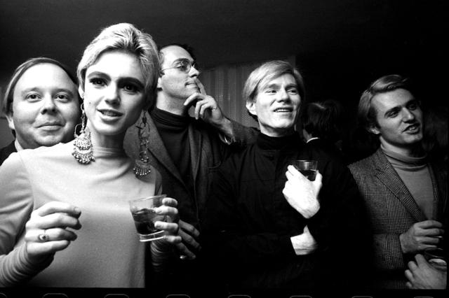 , 'Andy Warhol, Edie Sedgwick and Entourage II, New York,' 1965, Fahey/Klein Gallery