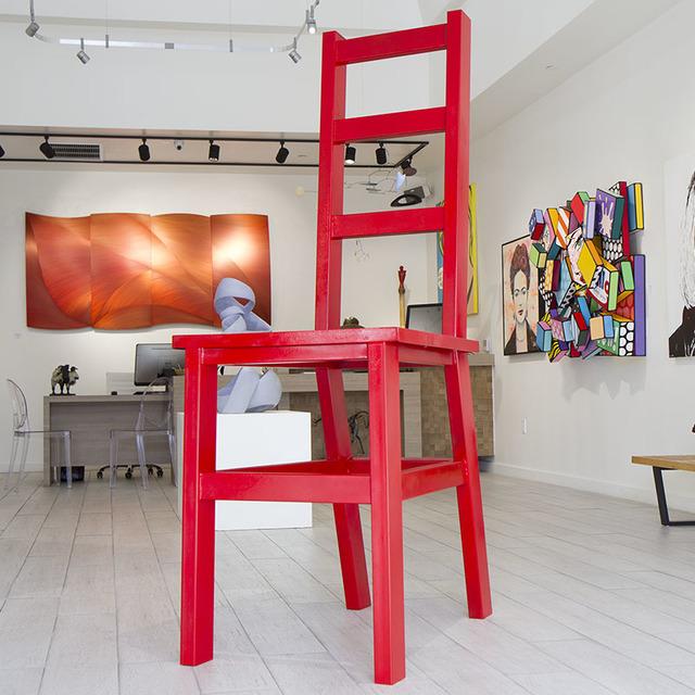 , 'Ferrari Red Chair,' , CODA Gallery
