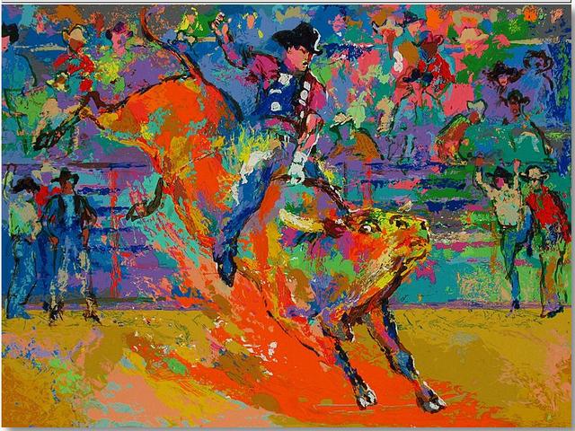 , 'Adriano, World Champion Bull Rider,' 2007, Newport Brushstrokes Fine Art