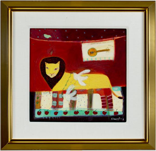 , 'Lion & Two White Crows,' 2002, David Barnett Gallery