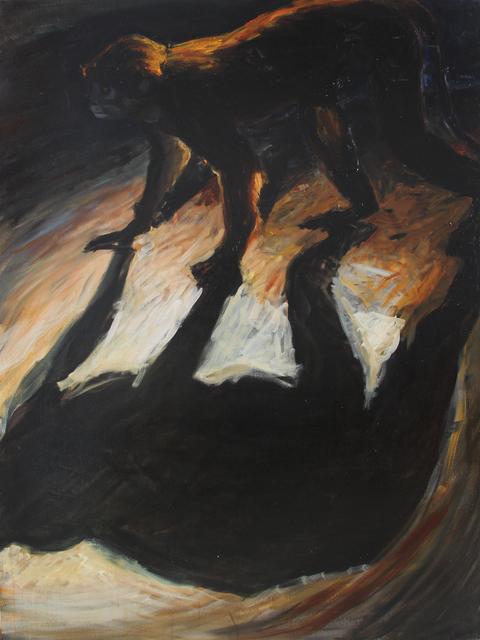, 'Sin título (Chango y sombra),' 2004, Galería Quetzalli