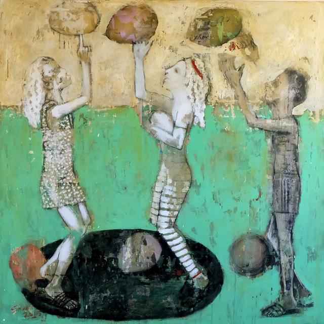 , 'Pick up,' 2018, al markhiya gallery
