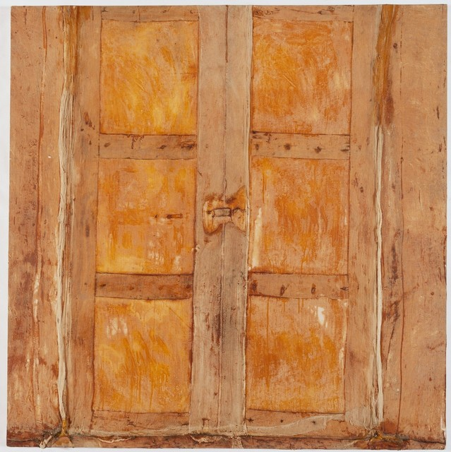 , 'Puerta beige grande (Large beige door),' 1986, Lehmann Maupin