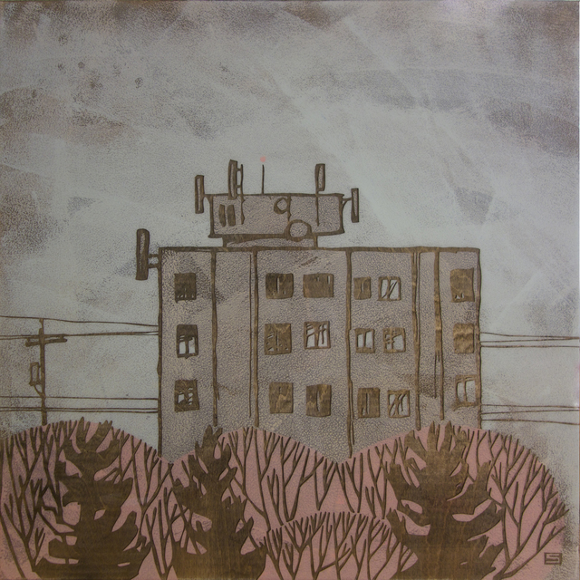 , 'Apartment Building,' 2015, The Front Gallery