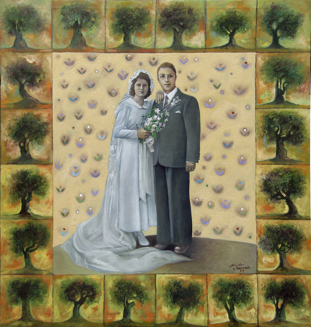 , 'Father and mother on their wedding day,' 1984, Gallery One