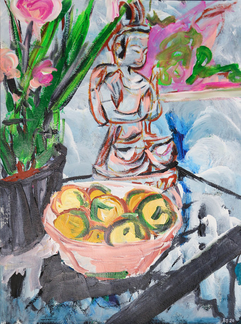 Luong Thai, 'Bowl of Life', 2020, Painting, Acrylic on canson watercolor paper, Matthew Liu Fine Arts