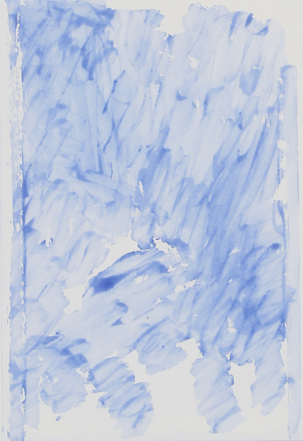, 'Summer Book blue sugarlift,' 2016, Niels Borch Jensen Gallery and Editions