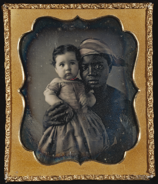 , 'Portrait of a Nurse and a Child,' ca. 1850, J. Paul Getty Museum
